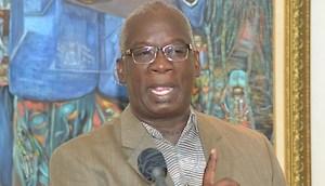 Minister of Education Ronald Jones
