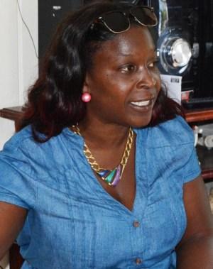 Spokeswoman Shara Wickham