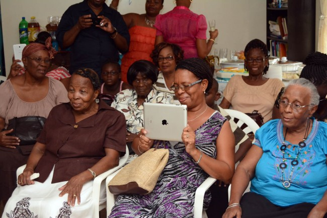 Family and friends gathered at Hendrick Quarless' Bow Road, Codrington, St Michael home to celebrate his birthday.