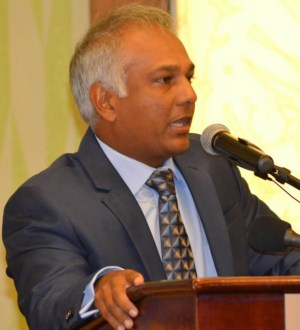 BHTA president Sunil Chatrani