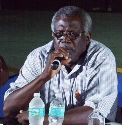 Former permanent secretary in  the Ministry of Finance William Layne