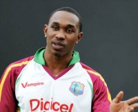 Dwayne Bravo wants to see the back of Wavell Hinds.