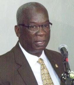 Education Minister Ronald Jones
