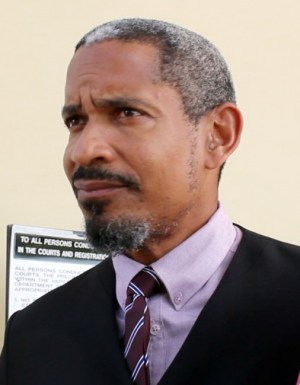 Attorney-at-law Andrew Pilgrim