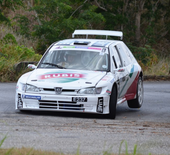 Dane Skeete among the local drivers to grace Sol Rally Barbados this year.