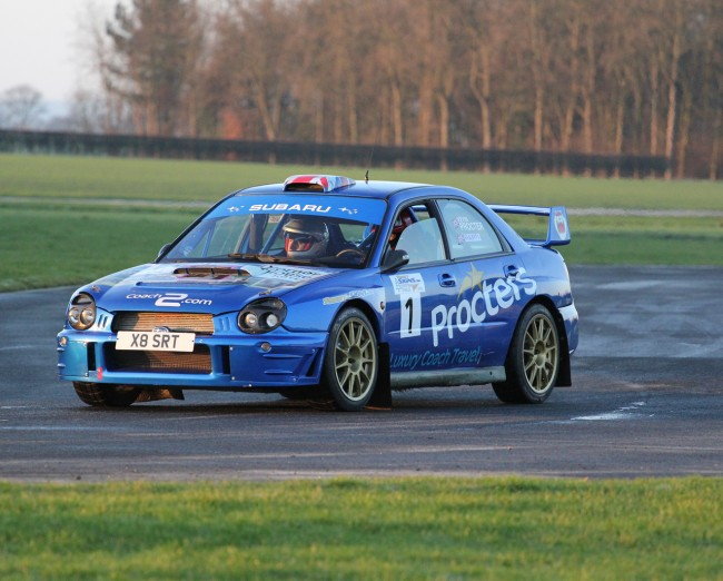 Kevin Procter coming for Sol Rally Barbados 2015.