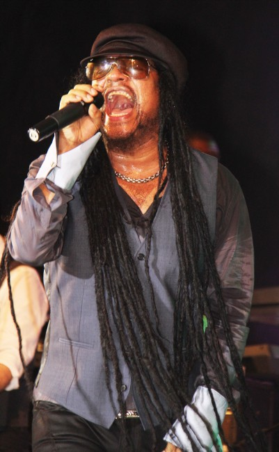 Maxi Priest belted out hit after hit.