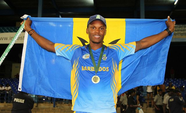 The Barbados Pride's captain Kevin Stoute and his team had little to smile about at this year's NAGICO-sponsored WICB 50-over tournament.(FP)