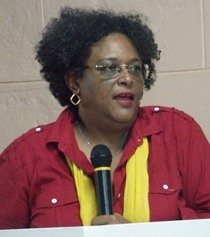 Opposition Leader Mia Mottley