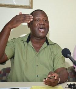 Senior minister Donville Inniss
