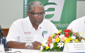 Managing Director of A1 Supermarkets, Andrew Bynoe