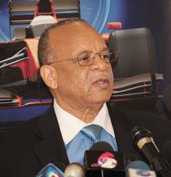 LIAT chairman Dr Jean Holder