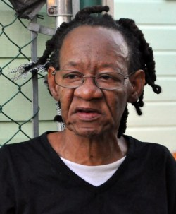 Margaret Wilson, the mother of deceased Erskine Gunning's girlfriend, said the family was not taking his death well.