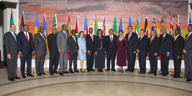 Heads of Government and Delegation at the 26th Inter-Sessional Meeting of the Conference of Heads of Government of CARICOM.