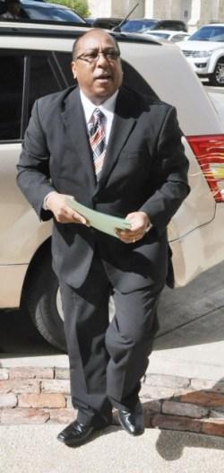 Minister of Agriculture Dr David Estwick