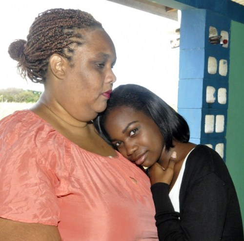 Justina Sobers and her mother Krissita Bovell are appealing to the public for financial help in paying for urgent surgery.