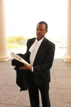 Lawyer Theold Fields