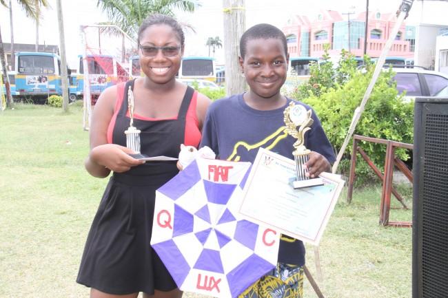 Xavier Alexander and Rachel Broome of Queen's College captured second place.