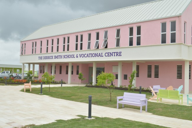 The new Derrick Smith School & Vocational Centre.