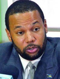 Fort Charlotte MP Dr Andre Rollins.