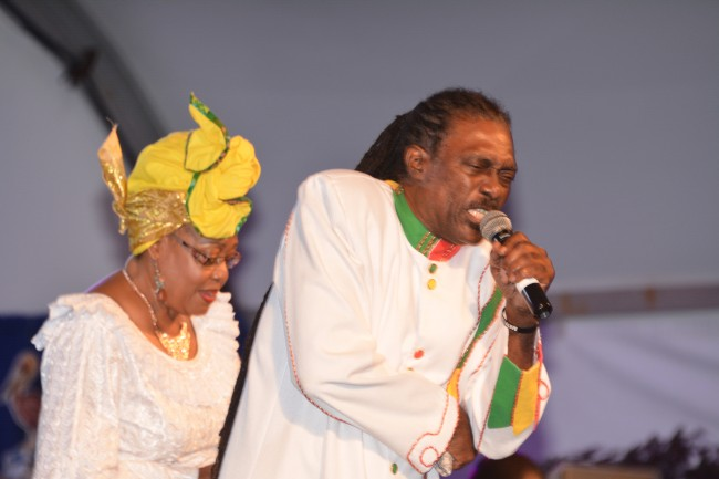 Veteran calypsonian Gabby was among the performers.