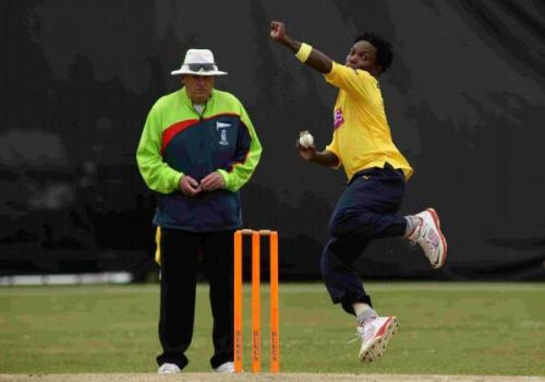 Fidel Edwards is looking forward to a successful stint with Hampshire.