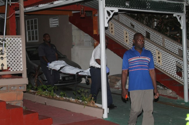 The lifeless body of 12-year-old Shamar Weekes was removed from his home late last night.