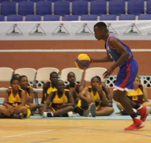 Team Queen's College won the dribbling competition in a time of one minute, 16 seconds.