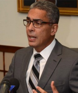 Co-chair of the Economic Programme Oversight Committee Richard Byles