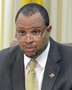 Minister of Finance Chris Sinckler