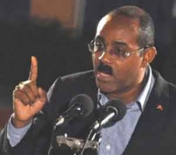 Antigua and Barbuda's Prime Minister Gaston Browne has told the EU to revisit its tax havens list.