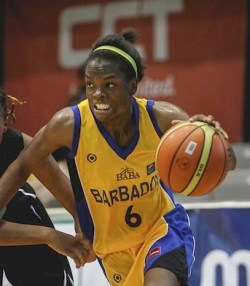 Dale-Marie Cumberbatch had nine points and six rebounds. (FP)