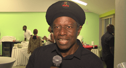 Singer and musician Eddy Grant was impressed by the entertainment.