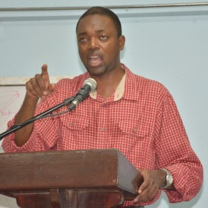 Opposition Barbados Labour Party (BLP) candidate Colin Jordan.