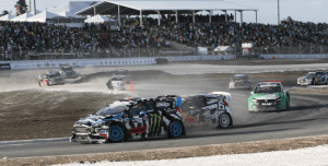 A new course layout will be used for the Global Rallycross this year.