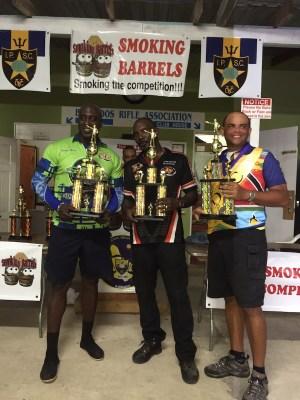 Barbados Production Team –– Charles Davis, Kevin Grant, Adrian Marshall.
