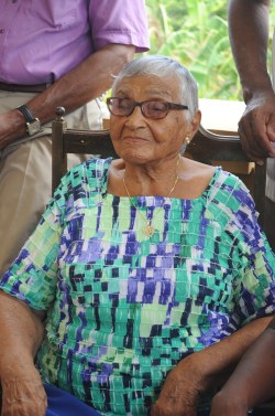 Helen Lizetta Hutchinson celebrated her 100th birthday today.