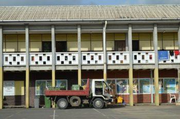 In the Dominica Grammar School.
