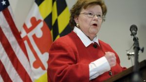 Democrat Barbara Mikulski of Maryland is the 34th senator to support the Iran deal.