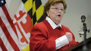Democrat Barbara Mikulski of Maryland is the 34th senator to support the Iran deal.
