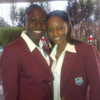 Stafanie Taylor (left) has replaced Merissa Aguilleira (right) as West Indies Women's captain.