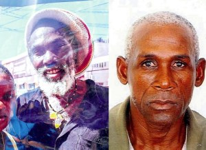 Wesley Reid (left) and Lenroy Plummer were among the murdered.