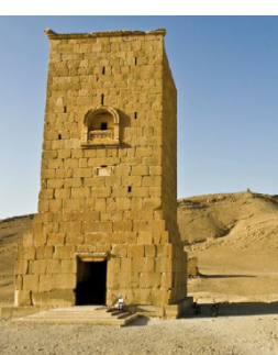 Syria's antiquities chief said that this  tower, the Tower Of Elahbel, built in AD103, was among those destroyed