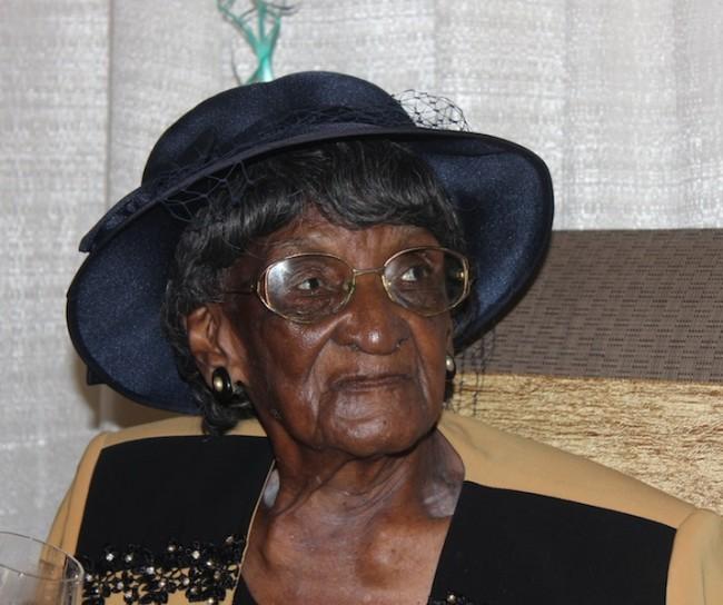 Inna Howard celebrated her 100th birthday yesterday.