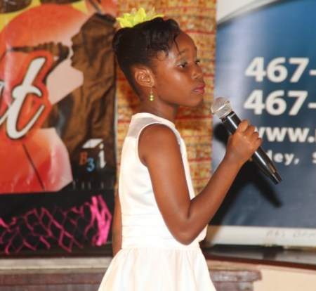 Youngest Contestant prize Kiah Shurland