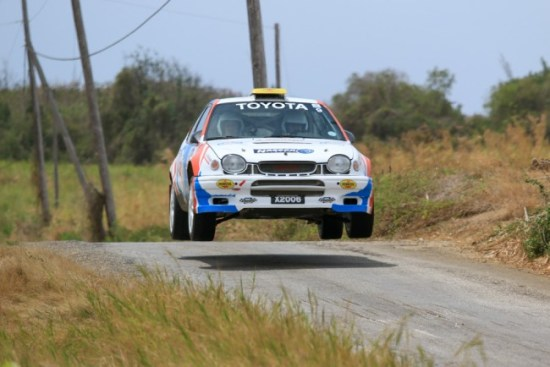 Roger Hill leads the four-wheel drive championship.  (Picture by Nicholas Bhajan Photography)