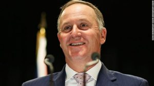 New Zealand's Prime Minister John Key speaking at a Press conference in Wellington earlier this month.