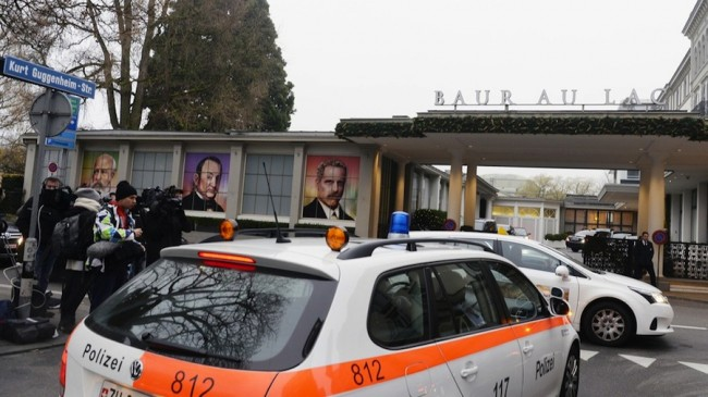 Swiss authorities raided the Baur au Lac hotel and arrested several FIFA officials.