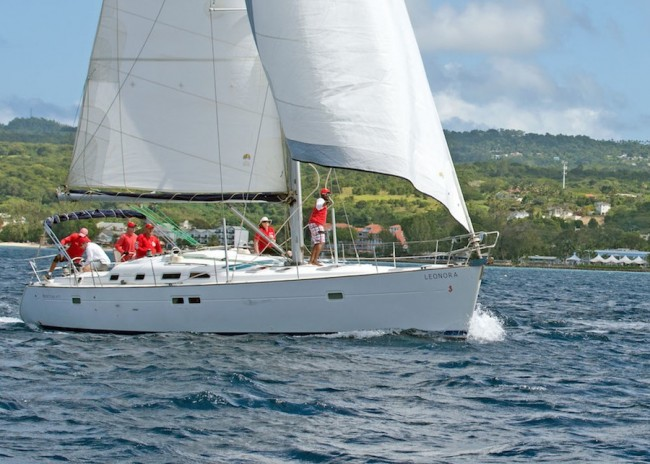 The crew of Leonora did well in the CSA cruising class.