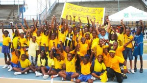 Yellow House have captured their ninth consecutive title at Wilkie Cumberbatch School sports.